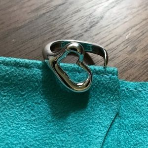 Elsa Peretti Tiffany & Co open heart ring